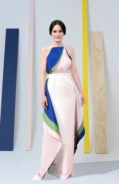 Rosie Assoulin, the designer who dressed Michelle Dockery at the Emmys.