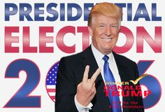 After a year and a half and an extremely tough presidential election campaign from both candidates Hillary Clinton, Donald Trump, and bo. Trump Wins, Presidential Election, Donald Trump, Campaign, Donald Tramp