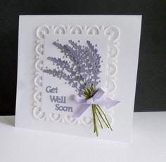 CAS418 - Lavender by sistersandie - Cards and Paper Crafts at Splitcoaststampers