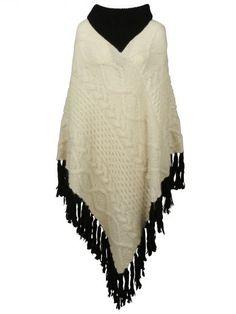 VERONIQUE BRANQUINHO Fringed Cape. #veroniquebranquinho #cloth #topwear