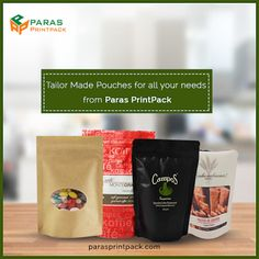 Paras Printpack - Stand Up Pouches