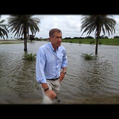 Behind the scenes: Brian Williams on location in New Orleans to broadcast @NBC Nightly News