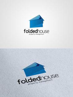 Folded house #logo #design $500