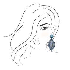 In türkis und blau sind die Ohrringe Bellezza mit Clips erfrischende Begleiter, die zu Gute-Laune-Outfits passen. Ob lässiger Alltagslook oder Partysty…