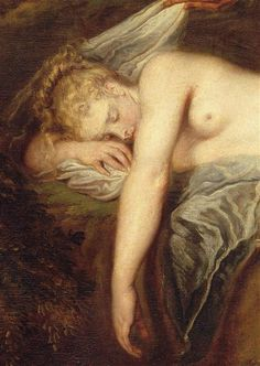 The Nymph by Watteau.