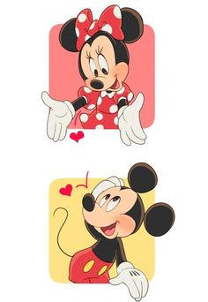 mickey mouse and minnie mouse Mickey Mouse Kunst, Mickey Mouse Cartoon, Mickey Mouse And Friends, Cute Mickey Mouse, Mickey Mouse Wallpaper Iphone, Cute Disney Wallpaper, Cute Cartoon Wallpapers, Theme Mickey, Mickey Love