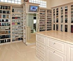 Luxury Closet Organization...