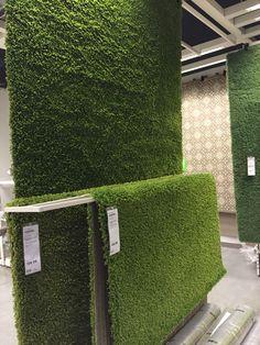 Grass or an IKEA rug?