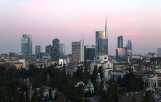Skyline di Porta Nuova #ODM993