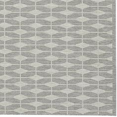 Shop Aldo Dove Grey Indoor-Outdoor Rug.  Designer Chris Mestdagh's close attention to mid-century architectural details invests his designs with dynamic and playful patterns.
