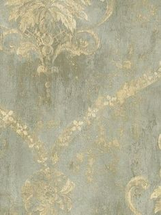 In love with this pattern...Damask Wallpaper