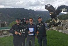 ORF Adler Dreh Greifvogelwarte Landskron Kärnten Österreich National Geographic, Servus Tv, Movie, Pictures, Peregrine Falcon, Alexander The Great, Actors, Projects