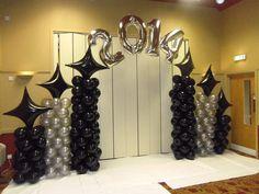 Balloons On Sticks Centerpiece . 30 Unique Balloons On Sticks Centerpiece . Prom Balloons, Graduation Balloons, Graduation Decorations, Wedding Balloons, Graduation Backdrops, Balloon Backdrop, Balloon Columns, Balloon Decorations, Balloons On Sticks
