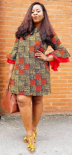 Best African Dresses Attire Fashion for African American women 2019 Best African Dresses, Short Ankara Dresses, African Traditional Dresses, Latest African Fashion Dresses, African Print Dresses, African Print Fashion, Africa Fashion, African Attire, Ankara Tops