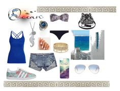 """""""summer paradise ♡"""" by zaphi-zaje ❤ liked on Polyvore featuring adidas, Morgan, CellPowerCases, Helix & Felix, Konstantino, BCBGeneration, Ray-Ban, Zimmermann, Charlotte Russe and women's clothing"""