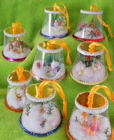 Make Some Fun Snow Globe Cup Ornaments For Christmas Crafts!, 10 Make Some Fun Snow Globe Cup Ornaments For Christmas Crafts!, 10 Make Some Fun Snow Globe Cup Ornaments For Christmas Crafts! Preschool Christmas, Christmas Crafts For Kids, Christmas Activities, Homemade Christmas, Christmas Projects, Kids Christmas, Holiday Crafts, Christmas Decorations, Christmas Trees
