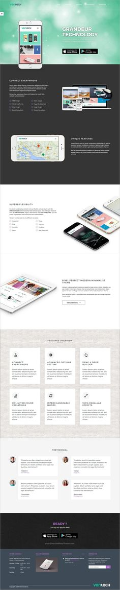 Ventech is a modern and minimal design multipurpose #bootstrap HTML5 #template for stunning #app #showcase website download now➩   https://themeforest.net/item/ventech-multipurpose-modern-minimal-responsive-html-5-templates/18717983?ref=Datasata