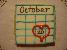 Save the Date. This would be cute to do to announce a baby's due date.