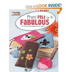 My new felt book has just been released...yay!! :)