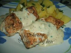 No Salt Recipes, Meat Recipes, Fish And Meat, Food And Drink, Menu, Gluten Free, Eggs, Cooking, Breakfast