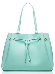 Kate Spade New York Cape Drive Lynnie Drawstring Bag Fashion Handbags, Purses And Handbags, Fashion Bags, Beautiful Handbags, Beautiful Bags, Sac Kate Spade, Design Bleu, Purse Wallet, Bucket Bag