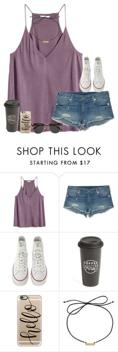 """""""Untitled #1703"""" by southernstruttin ❤ liked on Polyvore featuring H&M, True Religion, Converse, The Created Co., Casetify and Laundry by Shelli Segal"""