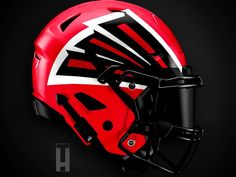 New Nfl Helmets, Cool Football Helmets, Football Helmet Design, New Helmet, Steelers And Browns, Falcons Football, Football Art