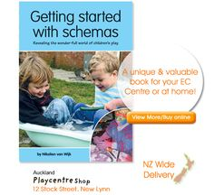 In reading this book you will learn about what schemas are, how to spot them and to use this to enhance teaching and learning. Learn how schemas support the delivery of Te Whaariki and the development of children's learning dispositions and working theories.  See you soon online or instore at Auckland Playcentre Shop!