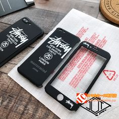 ハードフルケース全方面保護iPhone7plusカバーiphone6sステューシー男性メンズ芸能人STUSSYストリートファッションおしゃれ