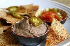Black Bean Hummus,                                            drfuhrman.com,                                                      blenderbabes.com