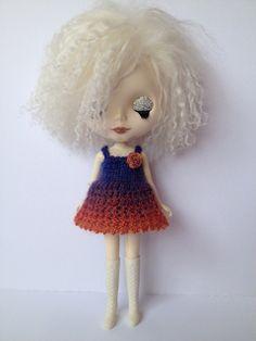 Blythe Lacey Mini Dress free knitting pattern