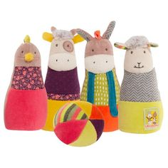 Bowling for Cousins by Moulin Roty