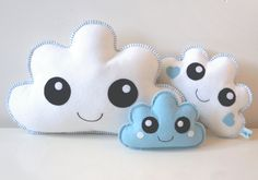 Cute cloud pillows! Pin now, check out later! - pinned by pin4etsy.com
