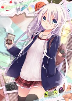Imagem de vocaloid, ia, and anime