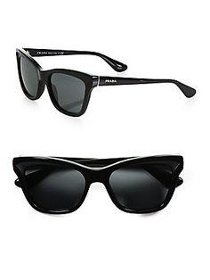 Prada Square Cats-Eye Sunglasses