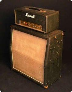 Vintage Guitars Basses Amps Gear / Marshall / Lead 20 / 1969 / Black / Vintage Amp