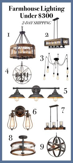 Farmhouse Lighting Fixtures, Dining, Kitchen, Bathroom, Living Room, DIY, Foyer, Exterior, Amazon, Flushmount, Hallway, Rustic, Lamps, Chandeliers, Pendant, Cheap, Entryway, Industrial, Island, Over table, sconce, affordable, black, vanity, french, wall, laundry, rustic, vintage, farmhouse style, decor, outdoor, ceiling, vintage, ideas, mudroom, Decor, Farmhouse Lighting, Farmhouse Light Fixtures, Farmhouse Decor Style, 2-day shipping #farmhouse #farmhouselighting #Farmhousegift…