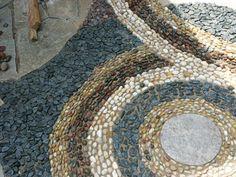 Stonehenge Brick Paving and Landscaping Mosaic Rocks, Pebble Mosaic, Stone Mosaic, Rock Mosaic, Rock Pathway, Stone Walkway, Paving Stones, Mosaic Garden, Glass Garden