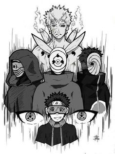 obito growing and slowly becoming more and more fucked up