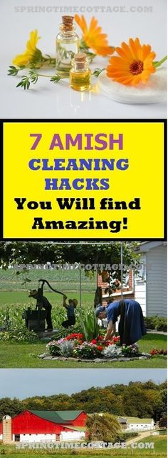Amish cleaning hacks
