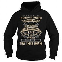 TOW TRUCK DRIVER - #tshirt organization #cheap hoodie. BUY IT => https://www.sunfrog.com/LifeStyle/TOW-TRUCK-DRIVER-121395291-Black-Hoodie.html?68278