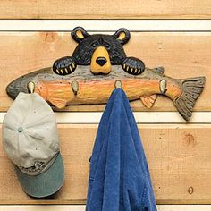 lodge cabin log cabin themed bedroom decorating ideas - moose fishing camping hunting lodge bedrooms for boys - decorating lodge style northwood wild animals woods theme bedrooms - rustic style home decorating - black bear decor - cabin decor Black Bear Decor, Black Forest Decor, Bedroom Themes, Bedroom Decor, Bedroom Rustic, Bedroom Kids, Rustic Style, Rustic Decor, Rustic Charm