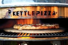 Instructions, tips, and recipes for making homemade pizza using a pizza stone, KettleGrill, and pizza peel to make authentic wood-fired pizza. Wood Oven Pizza, Wood Grill, Wood Fired Pizza, Oven Recipes, Pizza Recipes, Campfire Pizza, Campfire Recipes, Making Homemade Pizza, Grilled Pizza