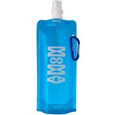 Vapur - the reusable, foldable water bottle. Collapsible Water Bottle, Reusable Water Bottles, Foldable Water Bottle, Wonderful Things, Good Things, Bottle Design, Pretty Good, Canning, Drinks