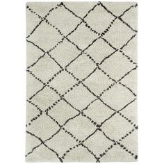Found it at Wayfair - Nador Trellis Rhinestone Area Rug