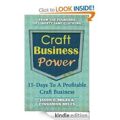 Craft Business Power: 15 Days To A Profitable Craft Business --- http://www.amazon.com/Craft-Business-Power-Profitable-ebook/dp/B00AXTO9VY/?tag=pintrest01-20
