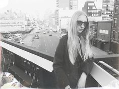 """NY """" #AbovetheCity """"  Model , Katja """"Iggy """" Igumenova loving ANDERNE """" His Latest Flame """" style by very talented Alex Covo www.alexcovo.com - par L.S.  These iconic shades are available @ prestigious stores worldwide ! Select stockists @ www.anderne.com or buy online www.the-window.de  In Hong Kong & Macau @ très chic Visual Culture Optical ! #iggy #katjaigumenova #alexcovo #anderne #hislatestflame #newyork #VisualCulture #Macau #HongKong"""
