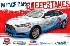 Win the 2013 Official Michigan Pace Car at Michigan International Speedway