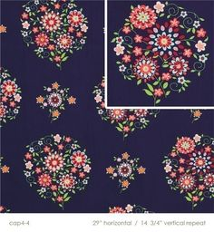 """love """"memento in midnight"""" fabric by amy butler"""