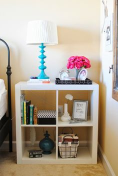 bookshelf/bedside table